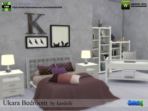 Sims 4 Ukara Bedroom by kardofe at TSR