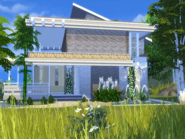 Adelia modern home by Suzz86 at TSR image 3216 Sims 4 Updates