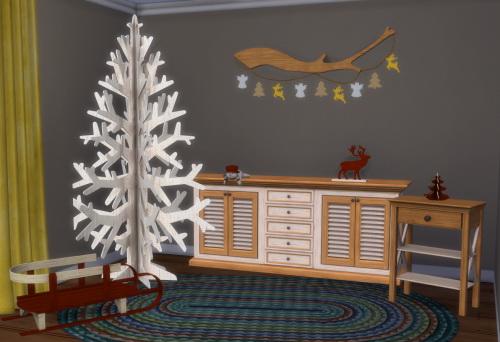 Sims 4 S3 to S4 X Mas Furniture & Deko at ChiLLis Sims