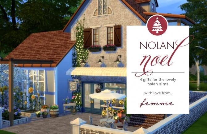 Sims 4 Secret Santa Gift for nolan sims at Femmeonamissionsims