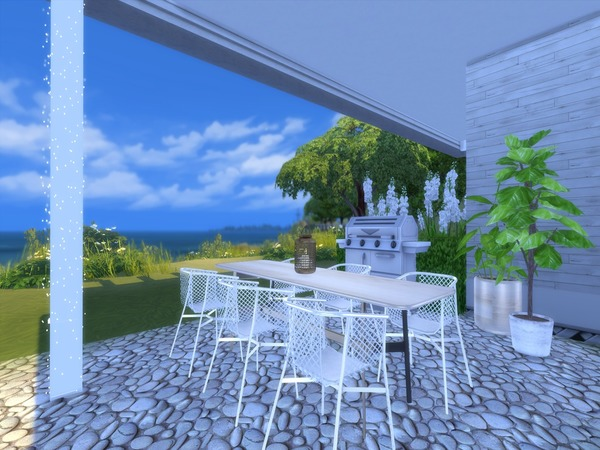 Adelia modern home by Suzz86 at TSR image 3414 Sims 4 Updates