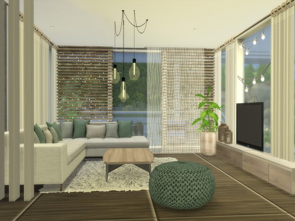 Adelia modern home by Suzz86 at TSR image 3514 Sims 4 Updates