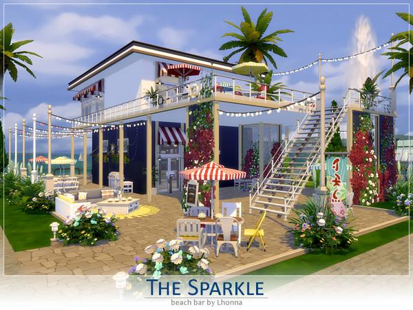 Sims 4 The Sparkle Beach Bar by Lhonna at TSR
