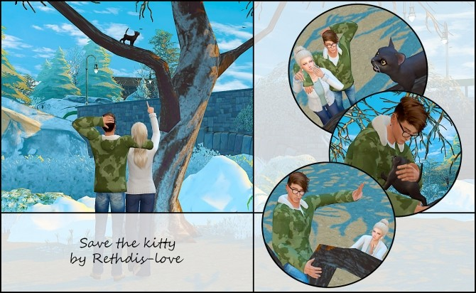 Save the kitty posepack at Rethdis love image 3521 670x412 Sims 4 Updates