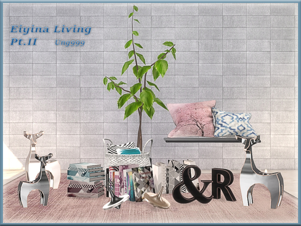 Eiyina Living Pt.II by ung999 at TSR image 3615 Sims 4 Updates