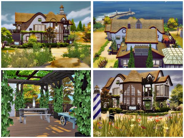 Sims 4 Shabby sweet home by Danuta720 at TSR