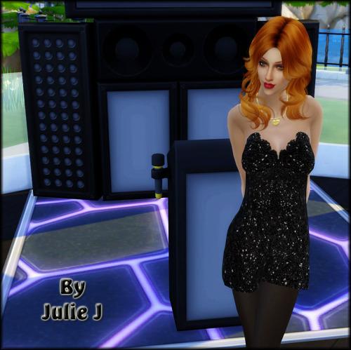 Party Dresses at Julietoon – Julie J image 3671 Sims 4 Updates