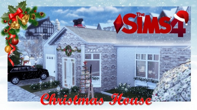 Sims 4 Christmas House at Lily Sims