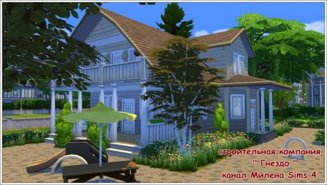 Sims 4 Keksik cottage at Sims by Mulena