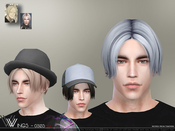 Sims 4 Hair OS1215 by wingssims at TSR
