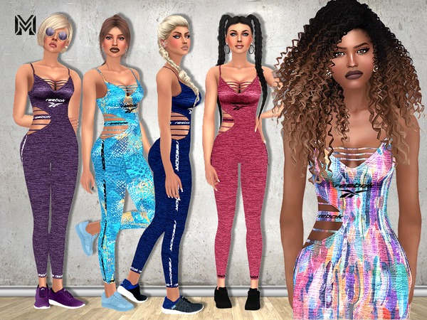 Sims 4 MP Sport Outfit by MartyP at TSR