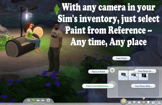 Paint From Reference Anywhere by scumbumbo at Mod The Sims image 4012 670x433 Sims 4 Updates
