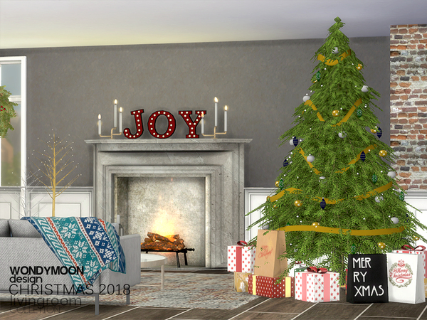 Christmas 2018 Decorations by wondymoon at TSR image 4112 Sims 4 Updates
