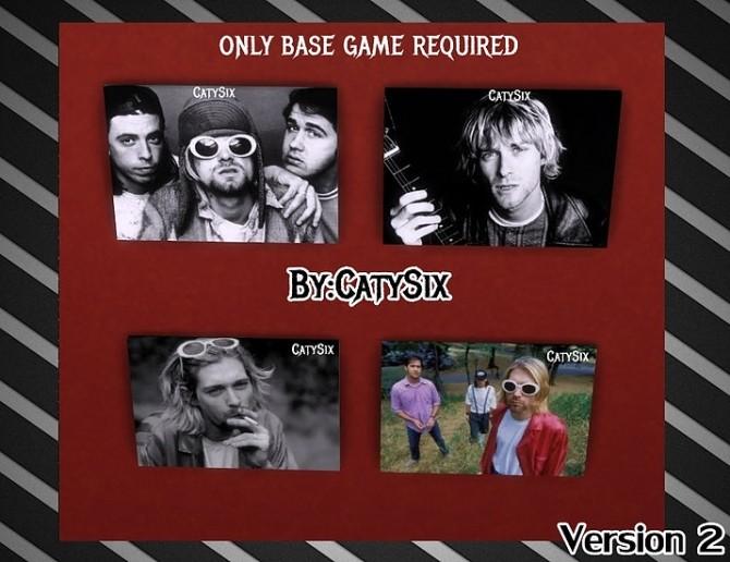 Sims 4 Nirvana posters at CatySix