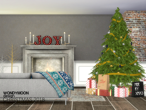 Christmas 2018 Decorations by wondymoon at TSR image 429 Sims 4 Updates