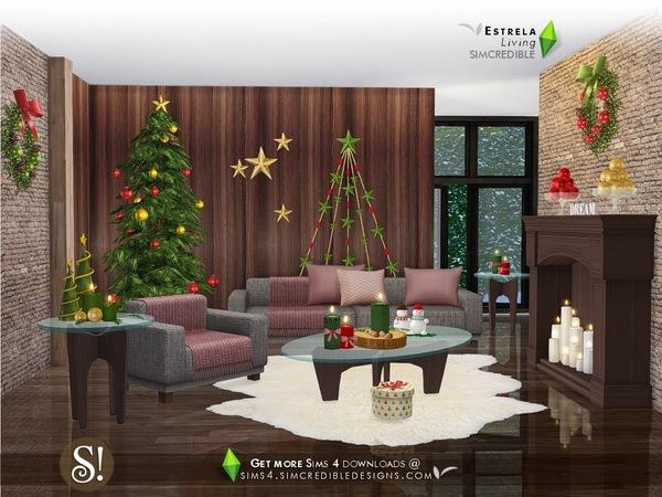 Sims 4 Estrela set by SIMcredible at TSR