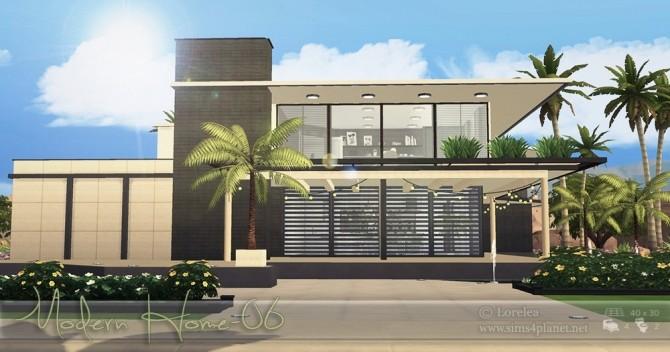 Sims 4 Modern Home 06 at Lorelea