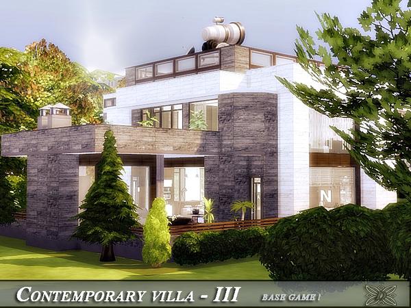 Sims 4 Contemporary villa IV by Danuta720 at TSR