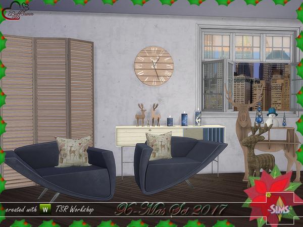 X Mas 2017 set by BuffSumm at TSR image 4915 Sims 4 Updates