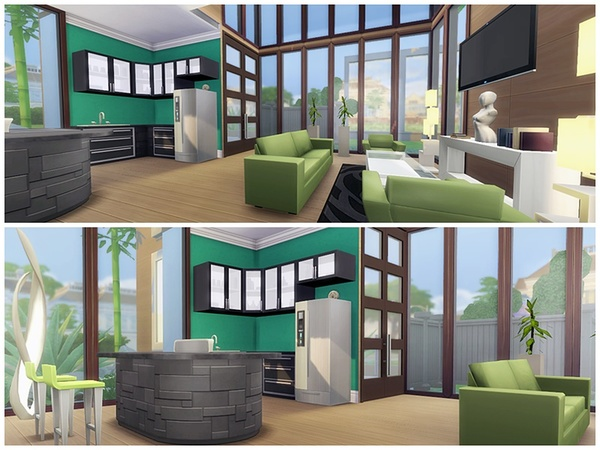 Sims 4 Single Paradise by yvonnee at TSR