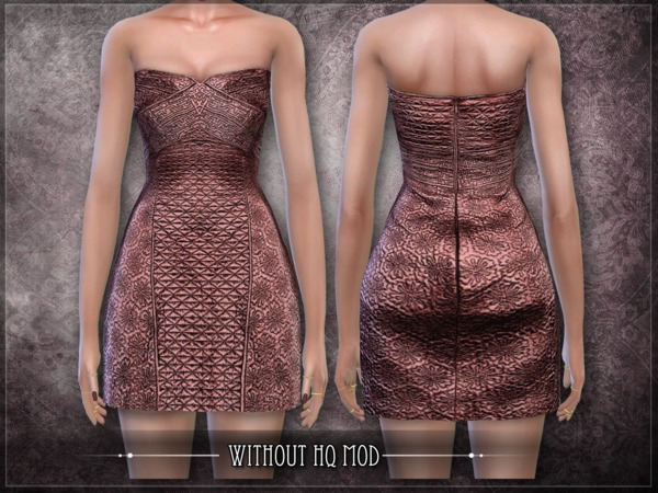 Sims 4 Inclusion Dress by RemusSirion at TSR