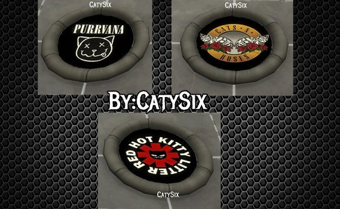 Sims 4 Cats Beds Ver 2 at CatySix