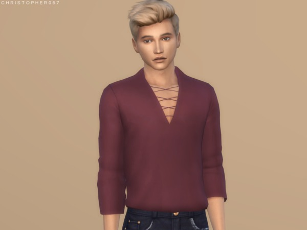 Voodoo Top Tucked by Christopher067 at TSR image 5311 Sims 4 Updates