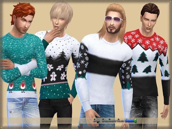Sims 4 Christmas Sweater by bukovka at TSR