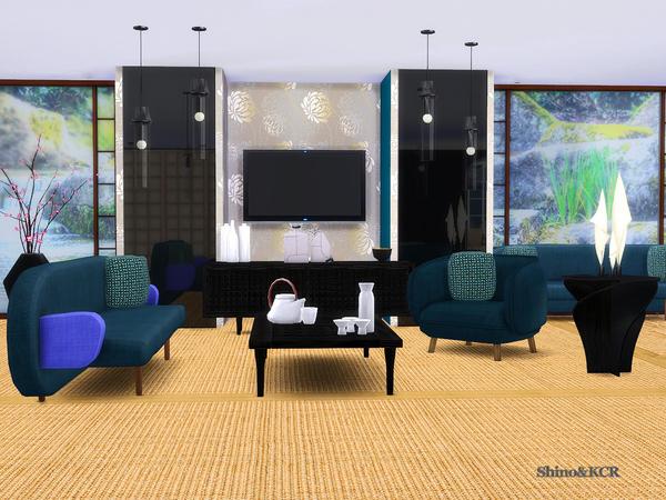 Sims 4 Japan Living by ShinoKCR at TSR