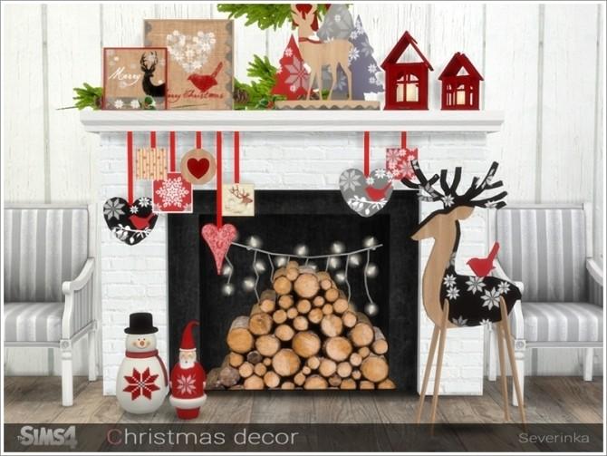 Christmas decor at Sims by Severinka image 553 670x503 Sims 4 Updates