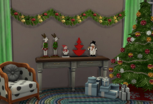 Sims 4 S3 to S4 BS XMas Deco at ChiLLis Sims