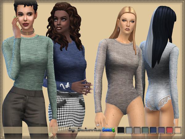 Sims 4 Top Body by bukovka at TSR