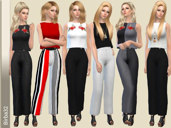 Sims 4 Emma pants by Birba32 at TSR