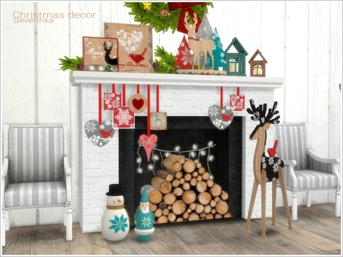 Christmas decor at Sims by Severinka image 563 670x503 Sims 4 Updates