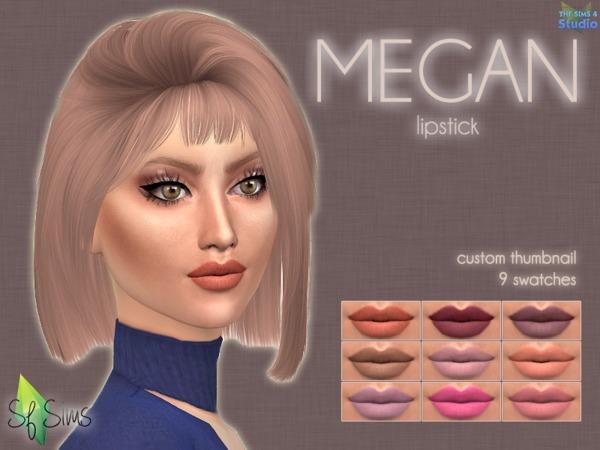 MEGAN lipstick by SF Sims at TSR image 576 Sims 4 Updates