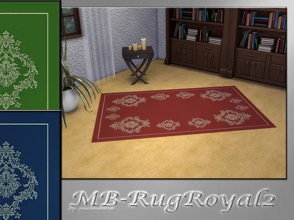 Sims 4 MB Rug Royal 2 by matomibotaki at TSR