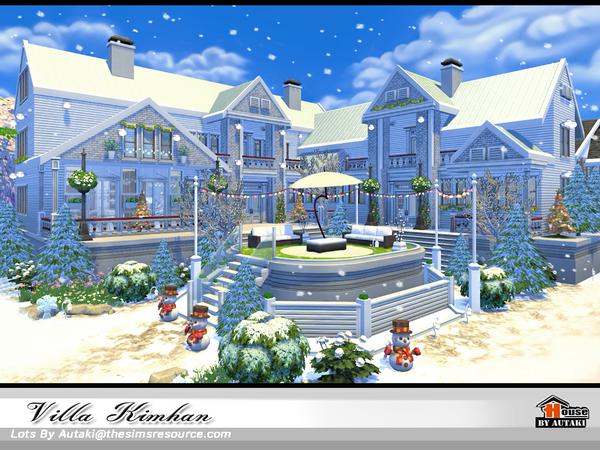 Villa Kimhan by autaki at TSR image 607 Sims 4 Updates