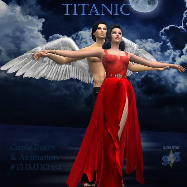 Cuple Poses & Animation Titanic #13 at IMHO Sims 4 image 6117 Sims 4 Updates