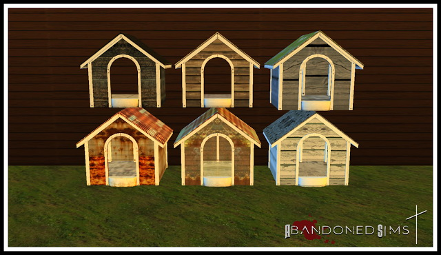 ABS Haggys Functional Abandoned Dog House at Abandoned Sims image 6122 Sims 4 Updates