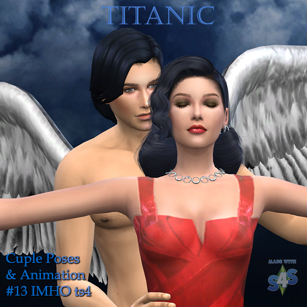 Sims 4 Cuple Poses & Animation Titanic #13 at IMHO Sims 4
