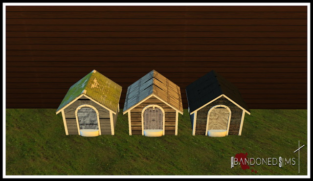 ABS Haggys Functional Abandoned Dog House at Abandoned Sims image 6218 Sims 4 Updates