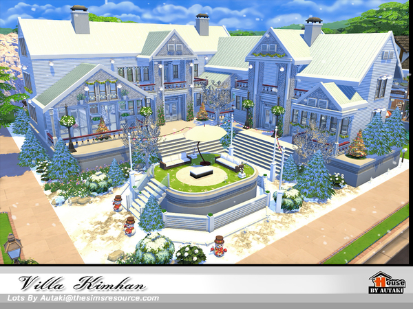 Villa Kimhan by autaki at TSR image 629 Sims 4 Updates