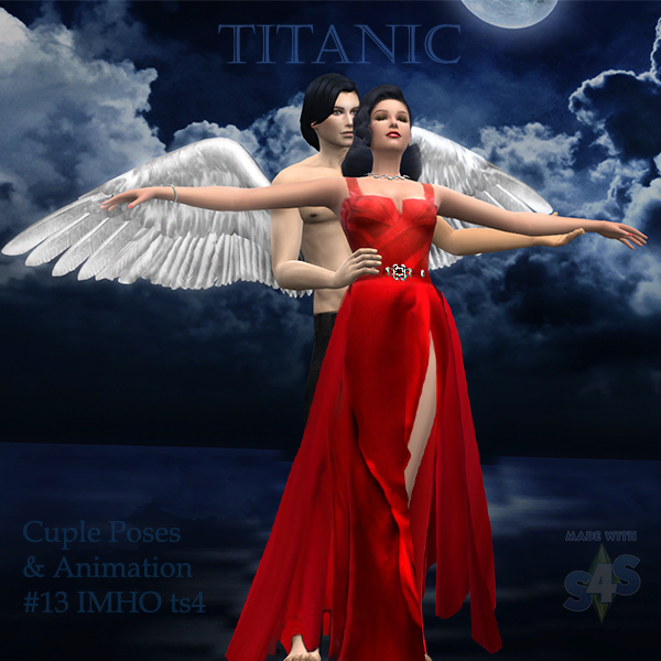 Cuple Poses & Animation Titanic #13 at IMHO Sims 4 image 6313 Sims 4 Updates