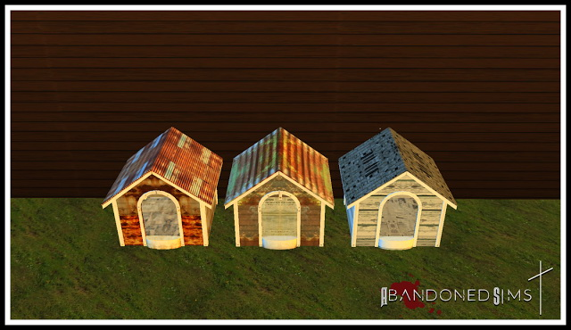 ABS Haggys Functional Abandoned Dog House at Abandoned Sims image 6318 Sims 4 Updates