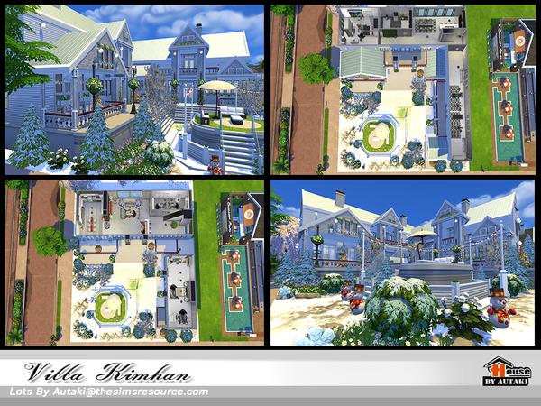 Villa Kimhan by autaki at TSR image 638 Sims 4 Updates