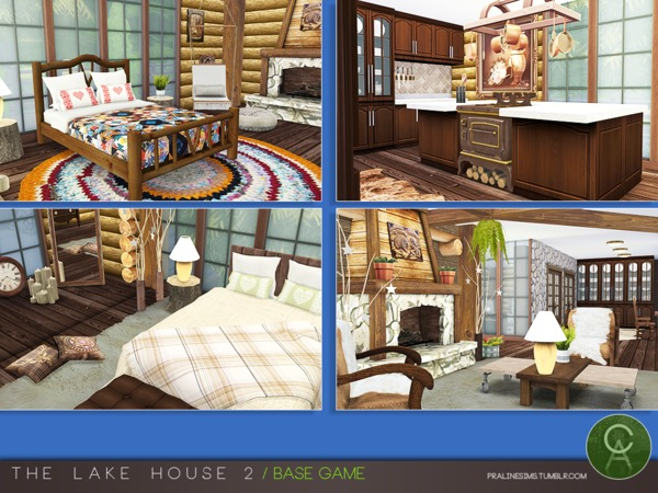 Sims 4 The Lake House 2 by Pralinesims at TSR