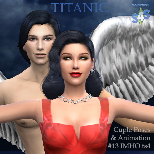 Cuple Poses & Animation Titanic #13 at IMHO Sims 4 image 6413 Sims 4 Updates