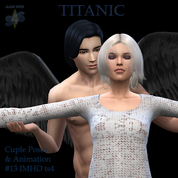 Cuple Poses & Animation Titanic #13 at IMHO Sims 4 image 6513 Sims 4 Updates