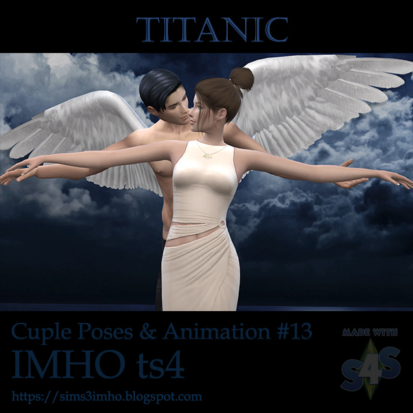 Cuple Poses & Animation Titanic #13 at IMHO Sims 4 image 6613 Sims 4 Updates