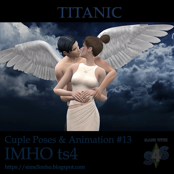 Cuple Poses & Animation Titanic #13 at IMHO Sims 4 image 6712 Sims 4 Updates